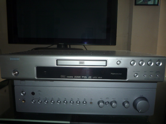 Denon 1740 DVD Player (Used)SOLD P1030163