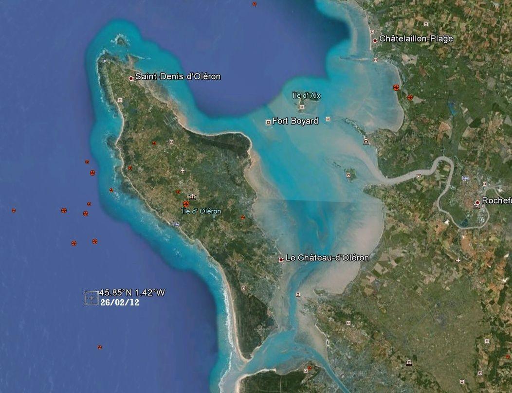 Séismes en Charente-Maritime depuis 2010 Seisme10