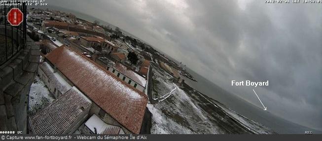 Le Fort Boyard en hiver/hors tournage - Page 3 Webcam10