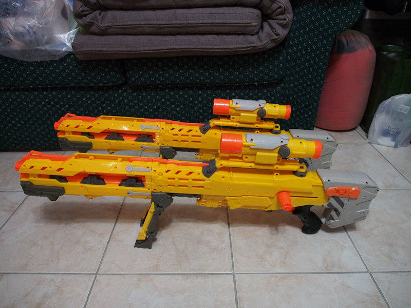 Nerf guns and parts for sale P7080210