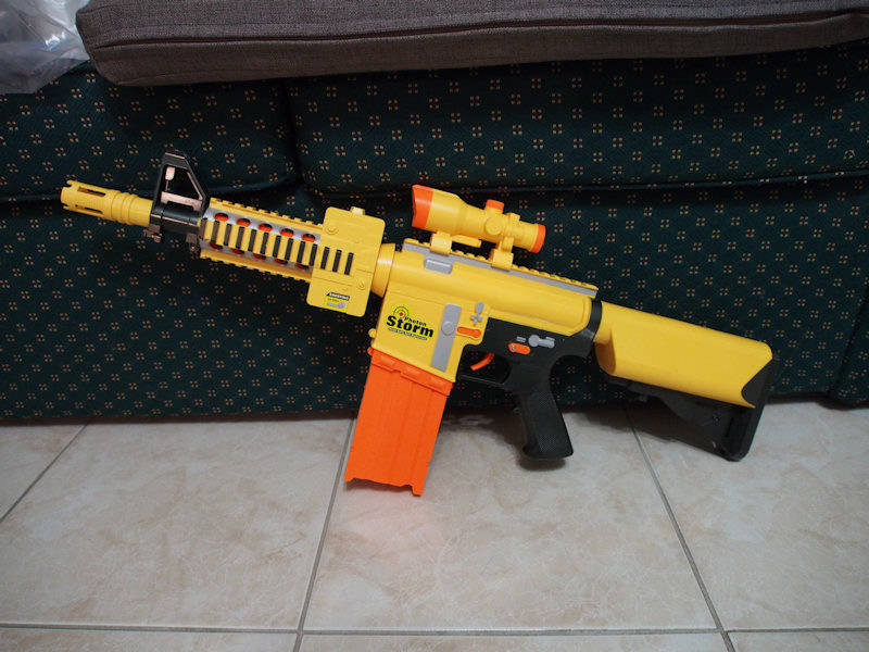 Nerf guns and parts for sale P7080212