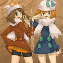 ImageShipping (Ondine/Kasumi x Flora/Haruka) Nikki110