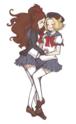 ShiroShipping (Ludvina/Hilda/White/Touko x Bianca/Bel) Tumblr10