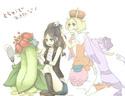 ShiroShipping (Ludvina/Hilda/White/Touko x Bianca/Bel) Tumblr15