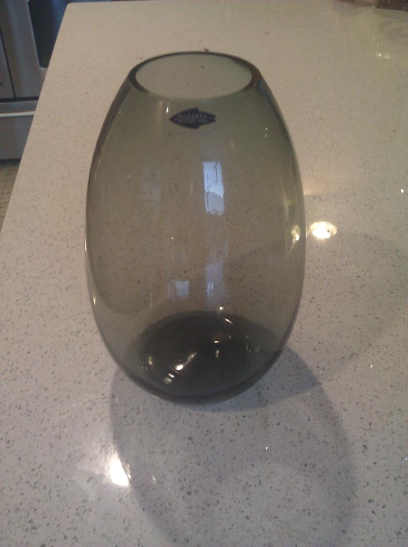 Grey Nuutajarvi Vase Glass10