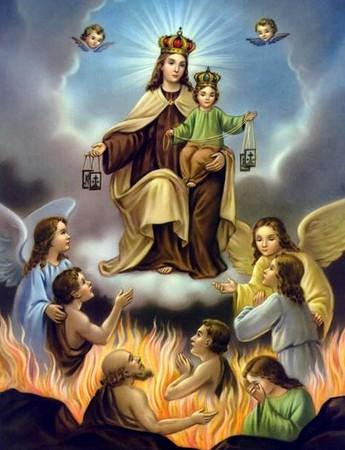 En ce mois de Marie prions pour les âmes du purgatoire - Page 2 25138110