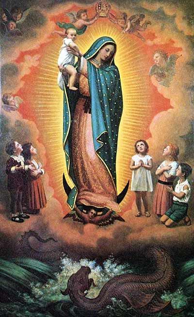 Nous fêtons aujourd'hui Marie Reine du monde 39709_11