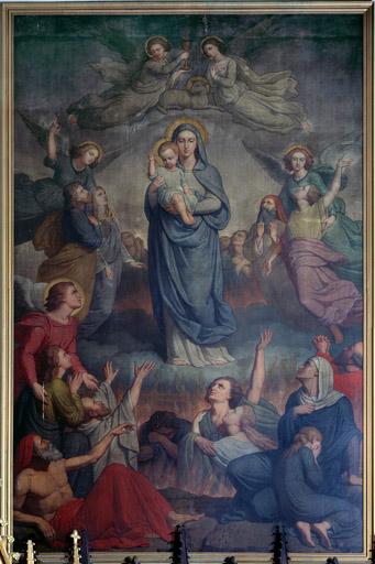 Prière pour les Âmes du Purgatoire à Notre Dame de Montligeon B_chri10