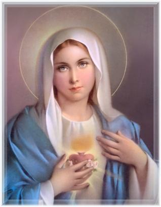 Premier samedi du mois dedie au coeur Immacule de Marie Mariam11