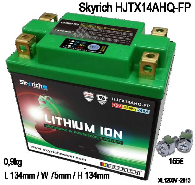 Batterie  Skyric10