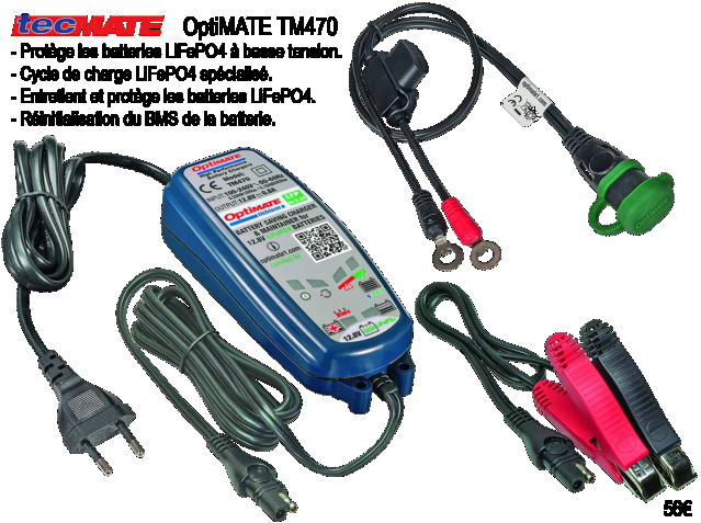 Batterie  Tecmat10