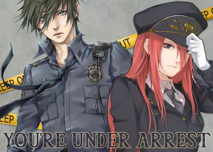 You're under arrest