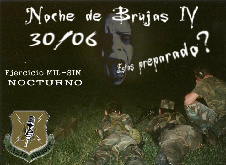 """Partida abierta MIL-SIM """"Noche de Brujas IV"""" Ezeiza 30/06/2012 Argentina Brujas10"""