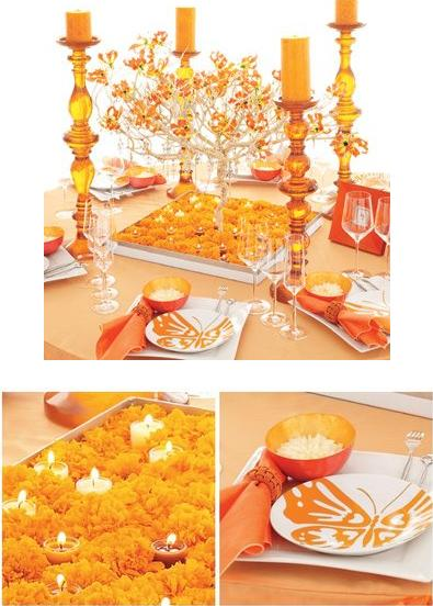 [Déco Ephémère] Tables => Par Couleur Orange10