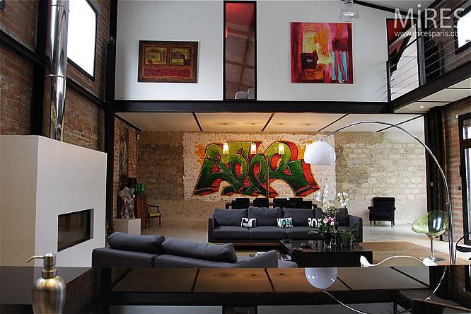 *Tessychou* [Pièce à vivre = 33m²] Style loft industriel. Avis Page 5 ? Photo_10