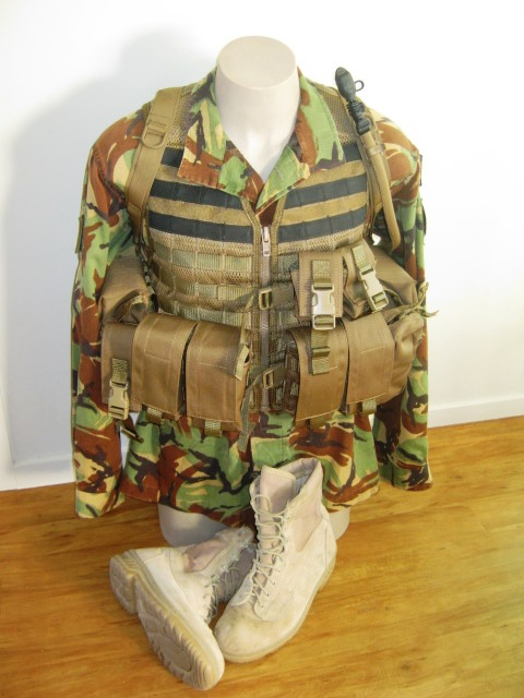 NZDF issue coyote brown molle Gyrofr10