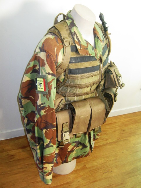 NZDF issue coyote brown molle Gyrolh10