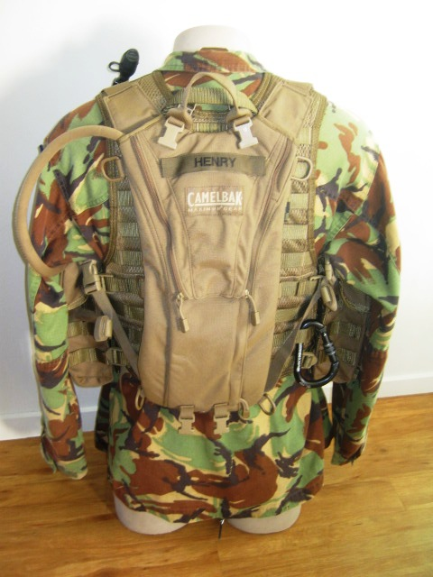 NZDF issue coyote brown molle Gyrore10