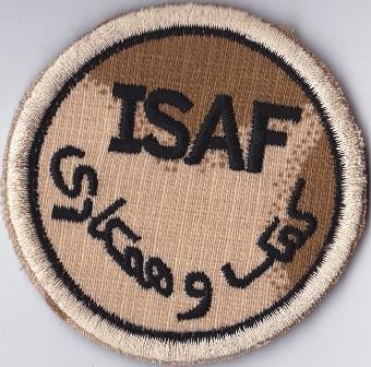 NZDF Velcro badges 2009 - Present. Isaf11