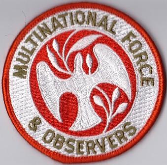 NZDF Velcro badges 2009 - Present. Mfo11