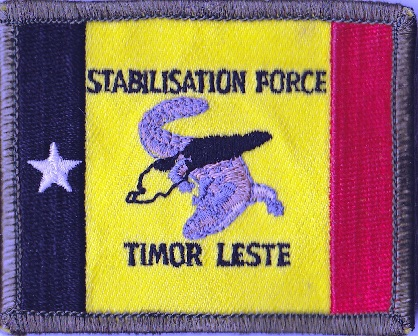 NZDF Velcro badges 2009 - Present. Timor-11