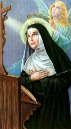 Bien-aimé Prière Très efficace à Sainte Rita de Cascia ZM26
