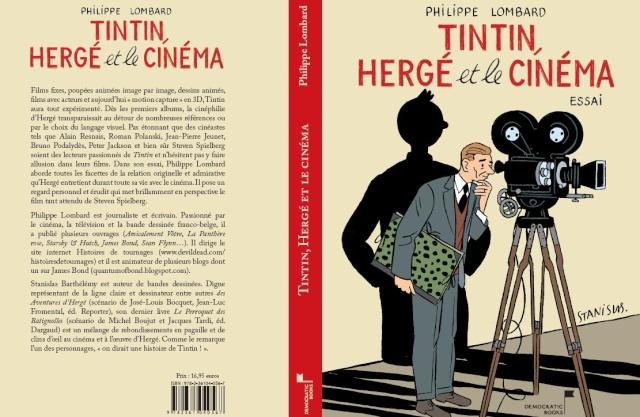 """""""Tintin, Hergé et le cinéma"""" Couv_c10"""