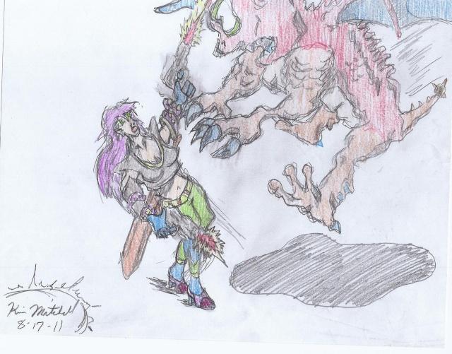 Mark57Raider's Sketches - Page 2 Violet10