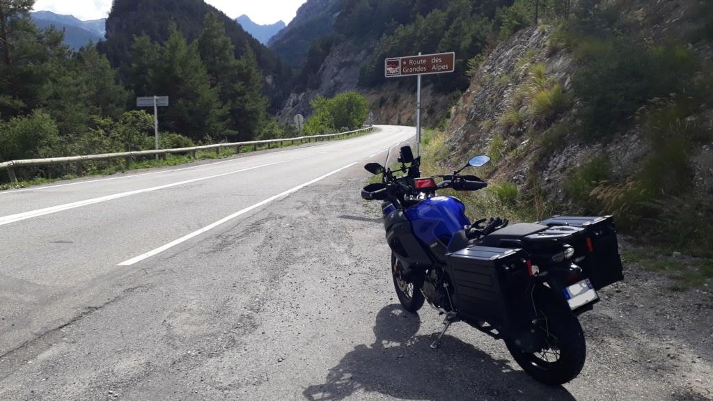Trip Route des Grandes Alpes et Napoléon  20180817