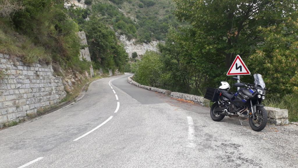 Trip Route des Grandes Alpes et Napoléon  20180822