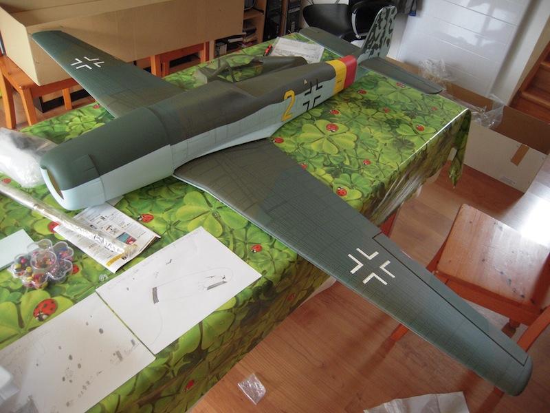 FW TA 152 H de Kyosho Dscn3913
