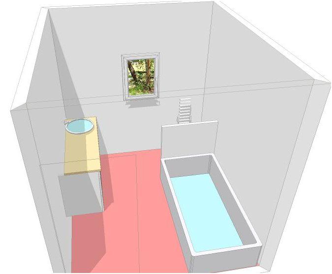 deux salles de bain à refaire, en mosaïque blanche, HELP please! Plan_211