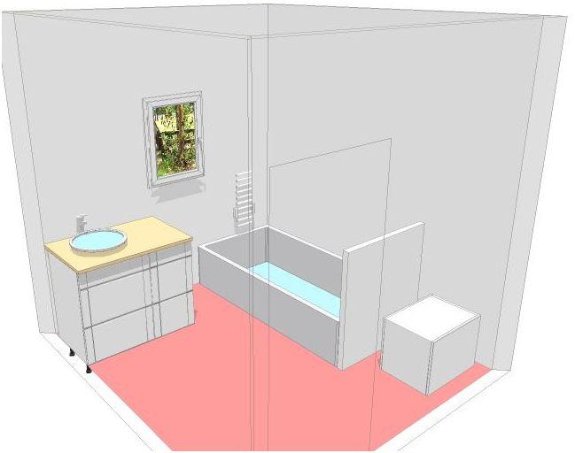 deux salles de bain à refaire, en mosaïque blanche, HELP please! Plan_p12