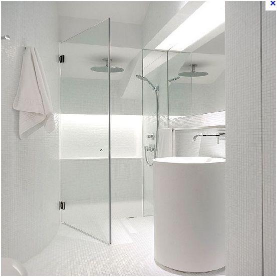 deux salles de bain à refaire, en mosaïque blanche, HELP please! White_11