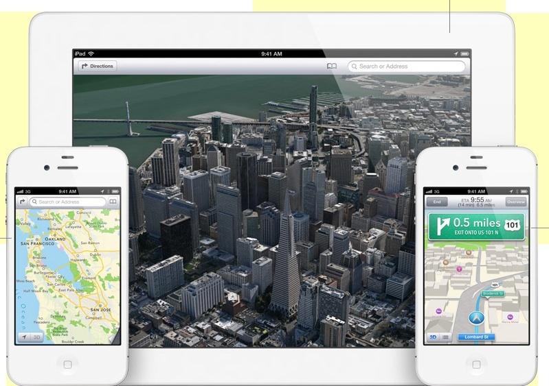 Apple WWDC 2012: iOS 6, Lion, Mac Book Pro New Generation e molto altro! Maps_g10
