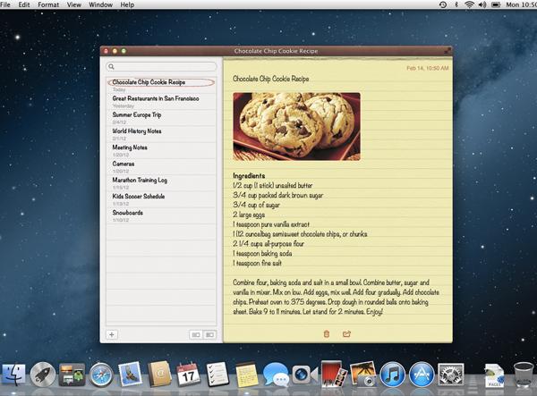 [MAC] Nuovo aggiornamento OS X 10.8 Mountain Lion: Notification Center, iCloud, AirPlay Mirroring e altri dettagli  Note10