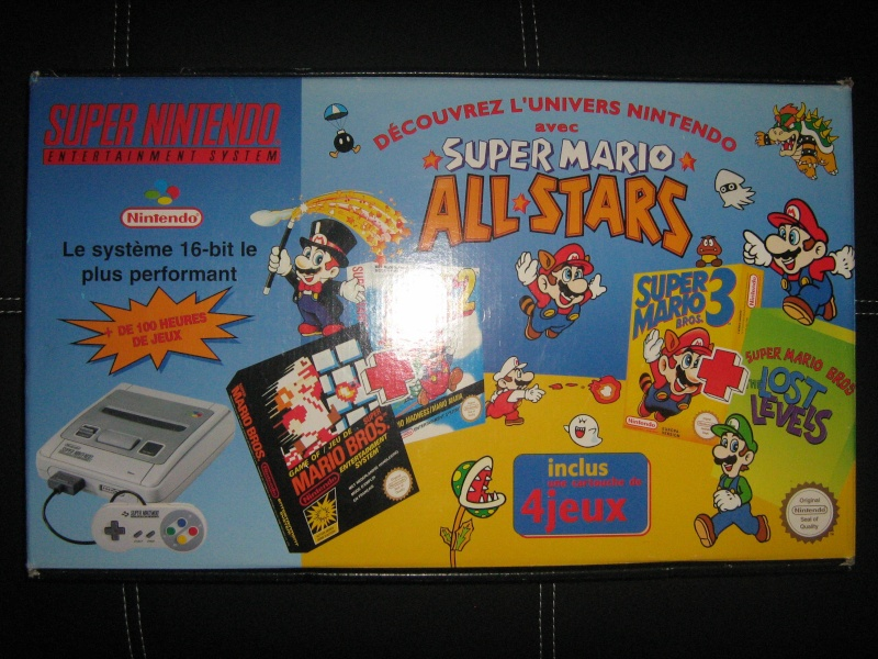 Ma collection mario : blister/console/jeux RARE et LIMITED (NEW 8/06) - Page 3 00211
