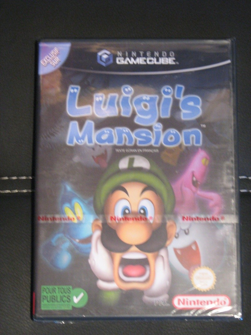 Ma collection mario : blister/console/jeux RARE et LIMITED (NEW 8/06) - Page 4 01410
