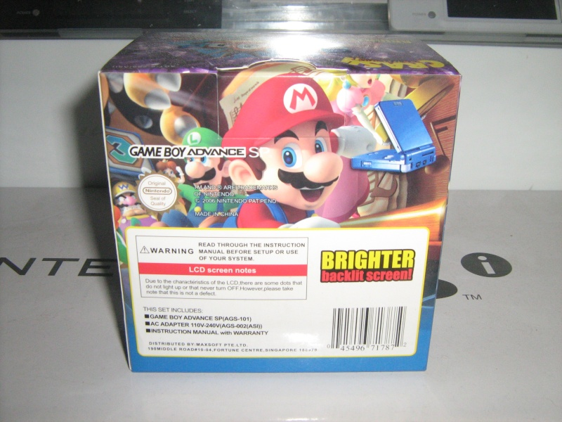 Ma collection mario : blister/console/jeux RARE et LIMITED (NEW 8/06) - Page 4 01710