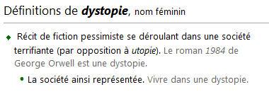 Utopie et dystopie  Dystop10