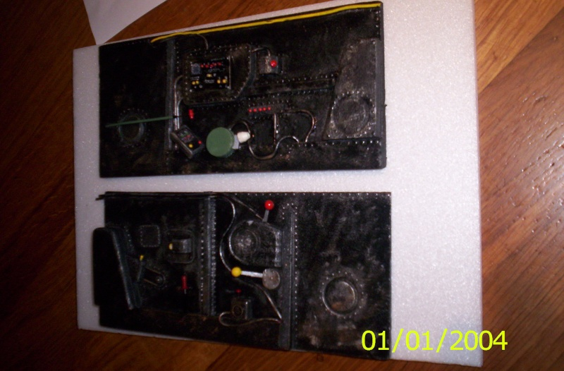 ME 109 G6  8 BLANC Cockpi10