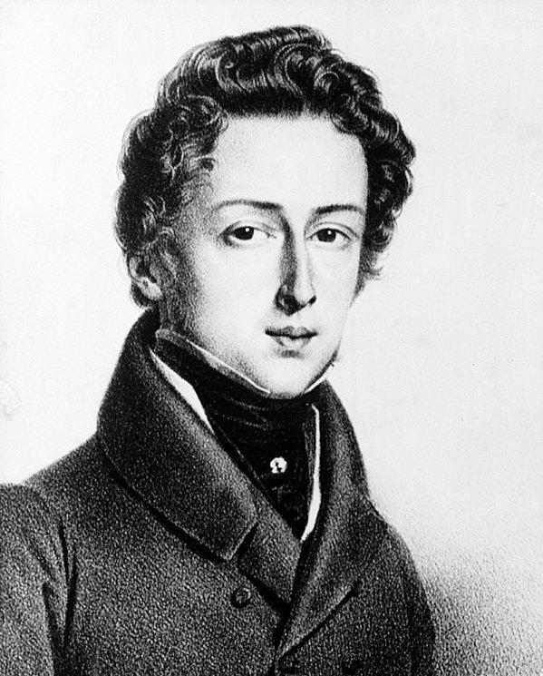 MUSIQUE: musiciens en peinture , en sculpture,... - Page 2 Chopin11
