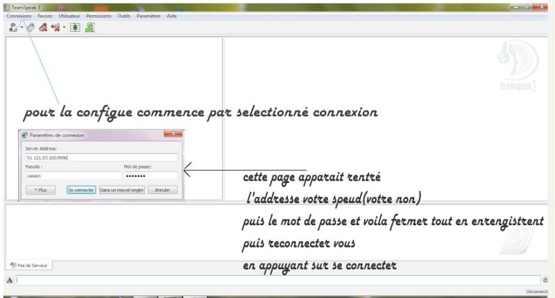 Tutos pour Teamspeak en francais et visible sur TM. Captur11