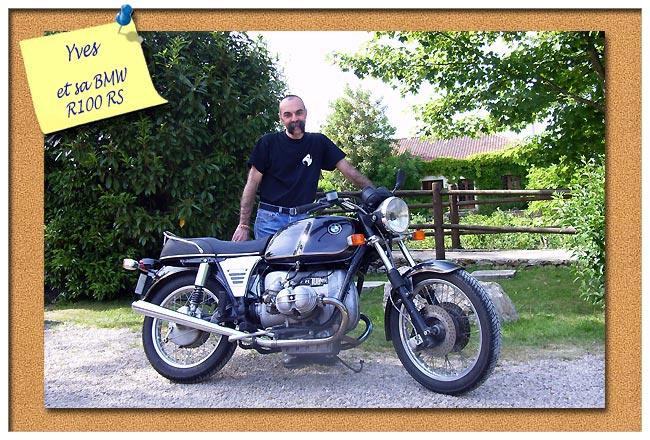 Projet Scrambler BMW /7 - Page 3 Yves112