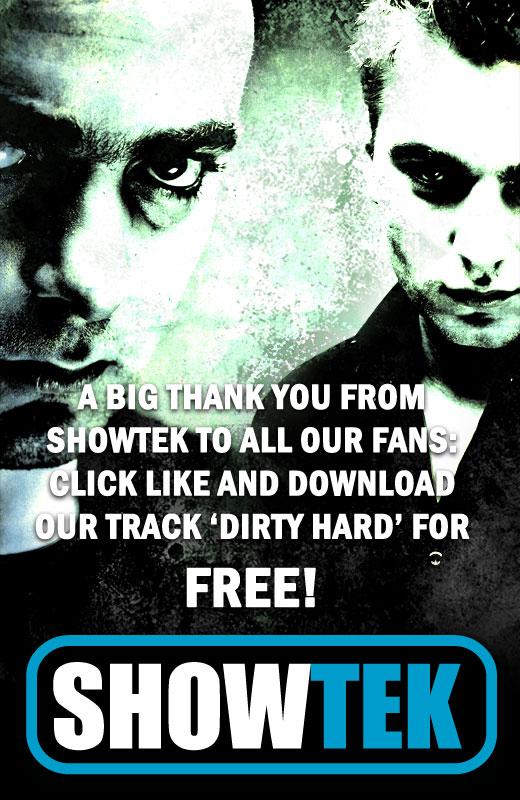 Showtek-Dirty Hard Tab_un10