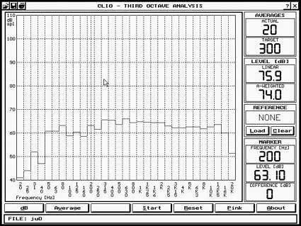 Diffusore bookshelf a due vie con woofer caricato in doppio carico Asimmetrico a vista (DCAAV) 112