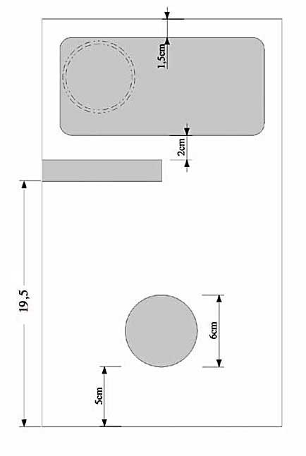 Diffusore bookshelf a due vie con woofer caricato in doppio carico Asimmetrico a vista (DCAAV) 412