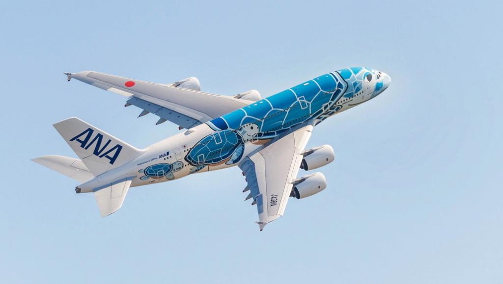 Airbus A 380: c'est fini !  Ana-a310