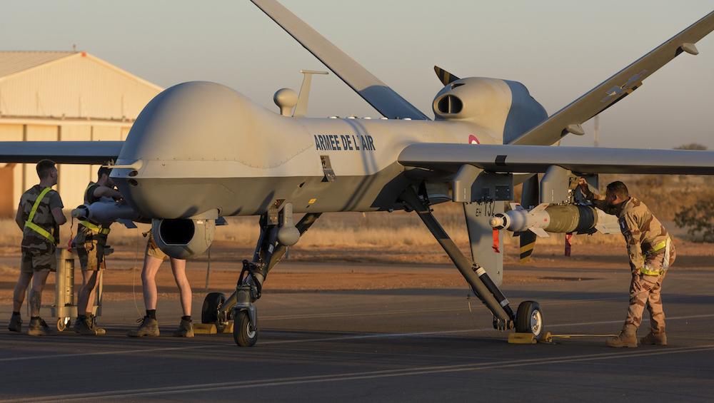 Drone Reaper Français armé  Drone-10