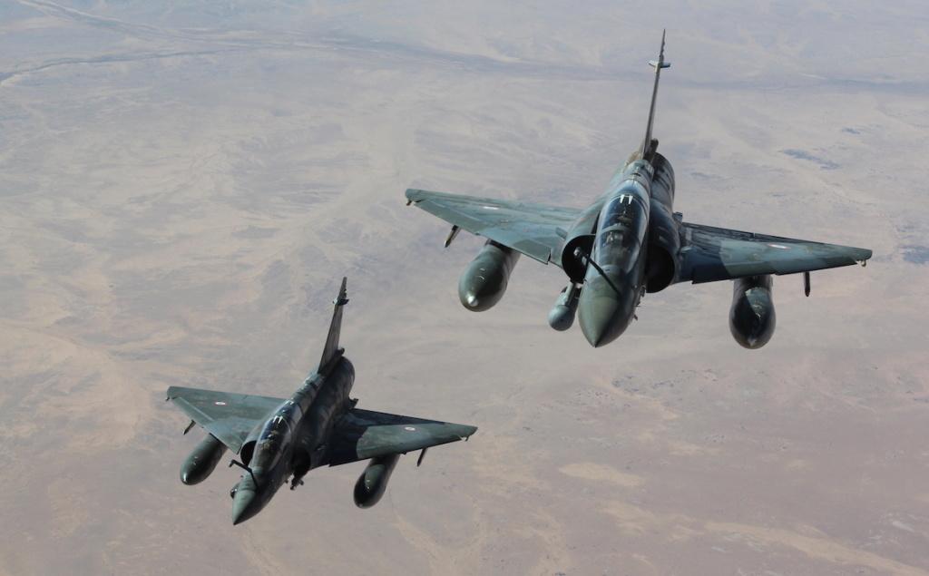 Les Mirage 2000 français ouvrent le feu au Tchad  Mirage10